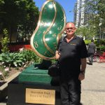 Melting Clock by Salvador Dali on Display in Downtown Vancouver | Mr. Locksmith